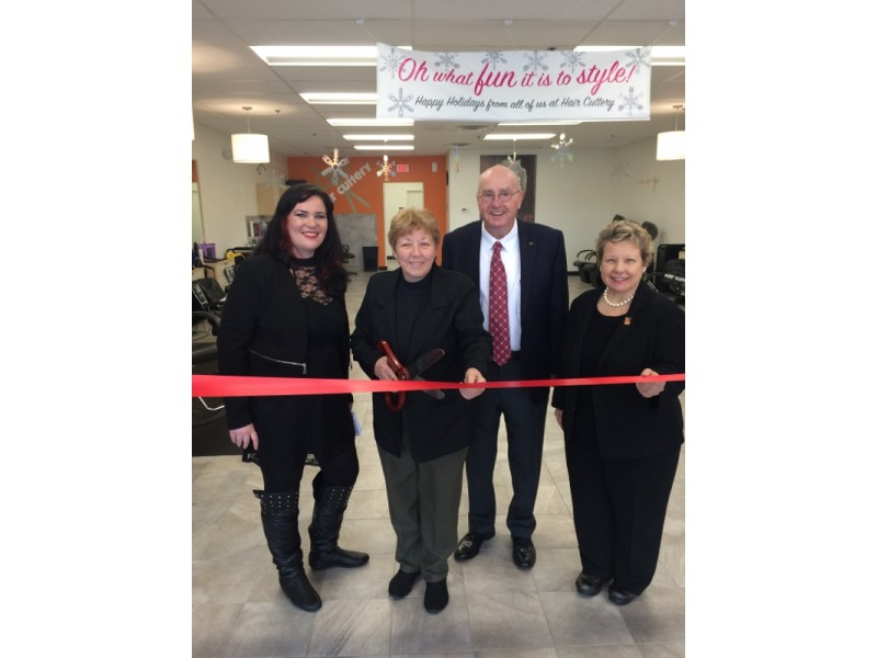 Hair cuttery celebrates grand opening with ribbon cutting ceremony