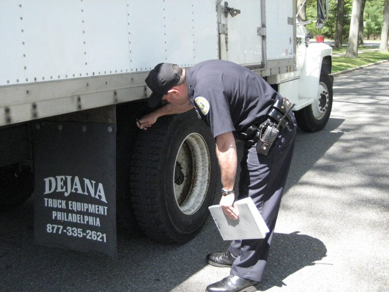 Police Commish Truck Stops Not A Waste Of Time Patch