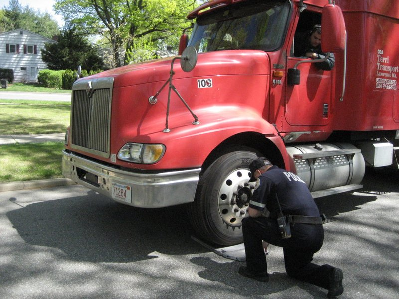 Police commish truck stops not a waste of time patch - Garden city police department ny ...