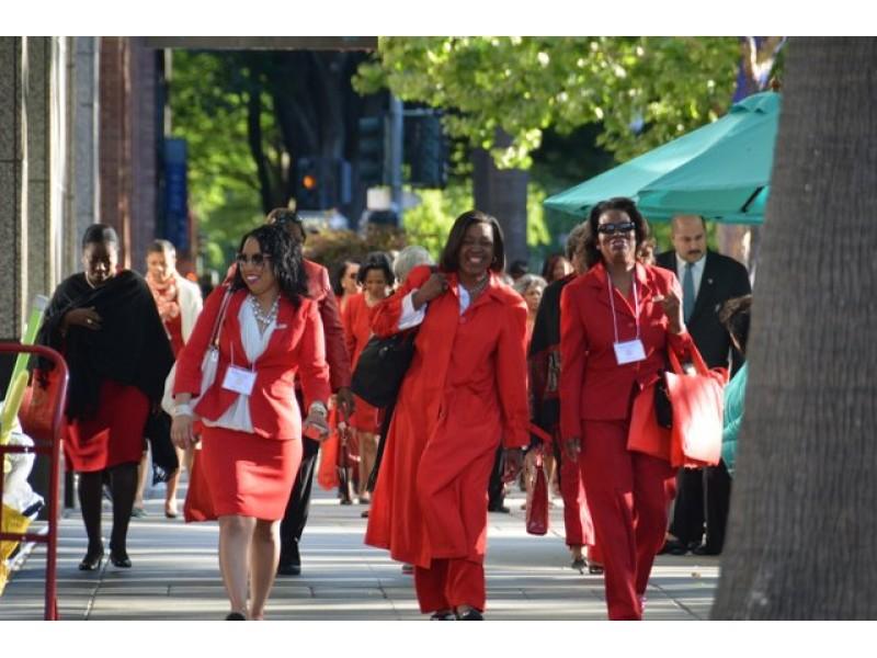 Delta Sigma Theta In Sacramento Brings California Members