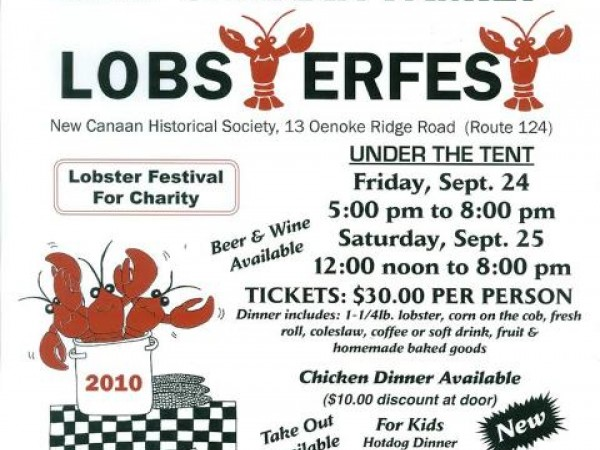 25th ANNUAL Rotary Club of New Canaan Lobsterfest! - New Canaan, CT Patch