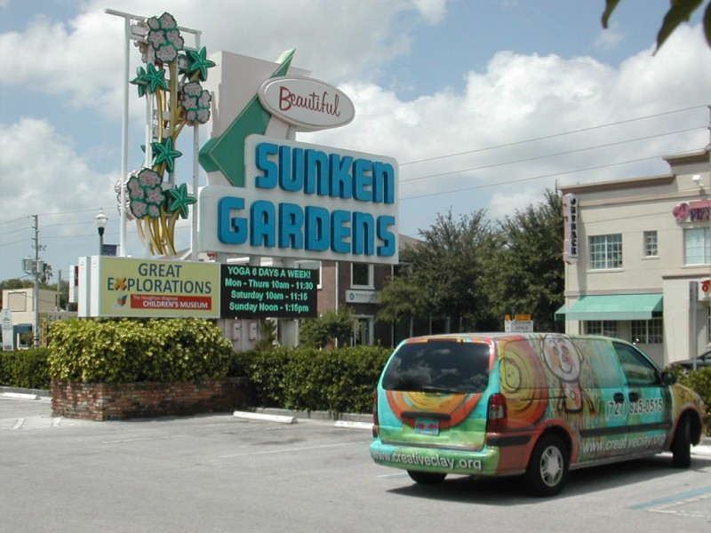 Seniors Find Yoga Classes At Sunken Gardens Great For Their Health St Pete Fl Patch