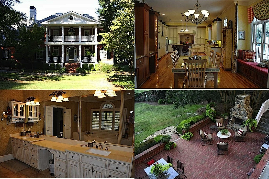 WOW Houses in GA: Tudor Revival, Rustic Chic Mansion, Colonial Estate