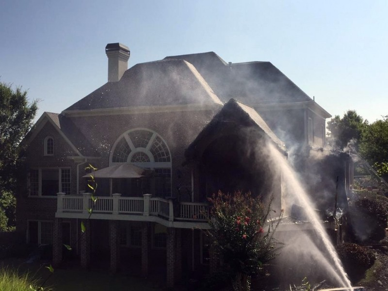 Fire Sparked By Grill Damages Sugarloaf Country Club Home