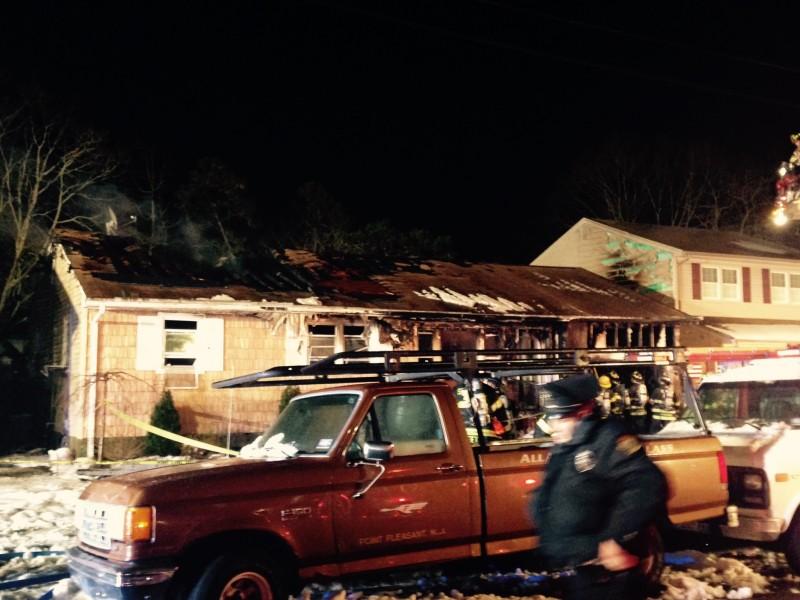PHOTOS: House Fire In Point Pleasant Boro - Point Pleasant ...