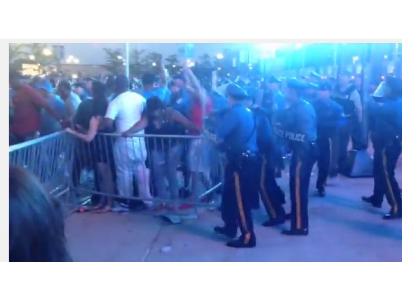 WATCH: Videos Capture Arrests Made As MetLife Stadium Concert Gets ...
