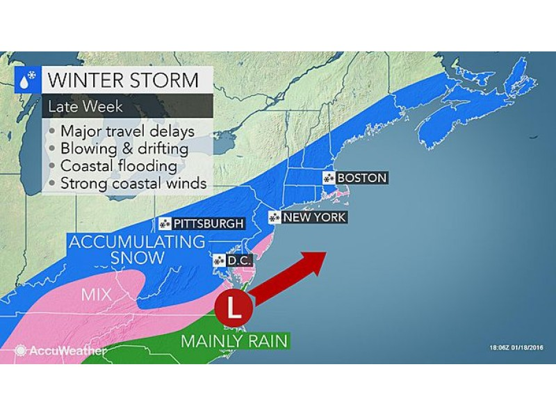 Weather Forecast: Morning snow showers for Wednesday