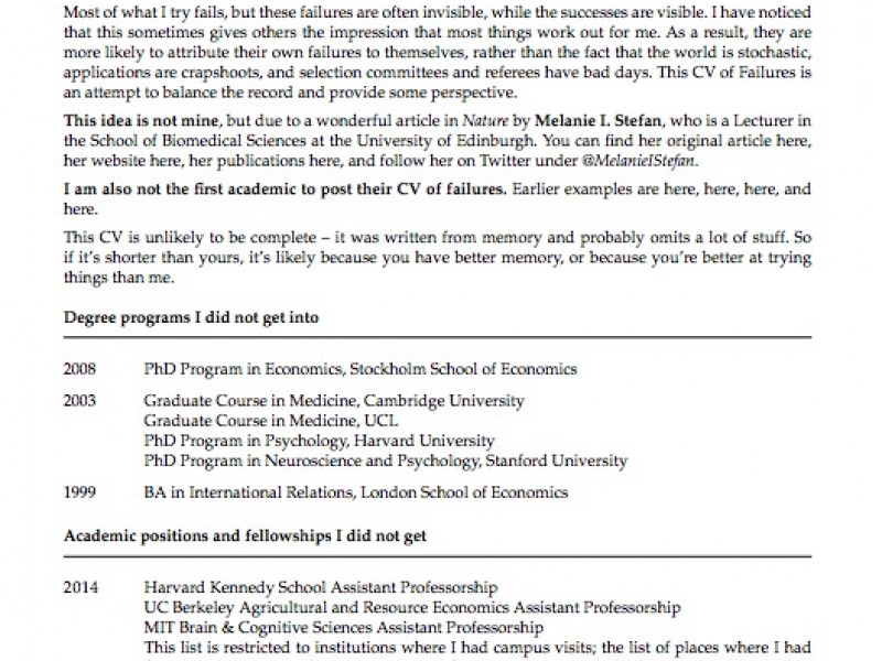 princeton professor s resume of failures goes viral