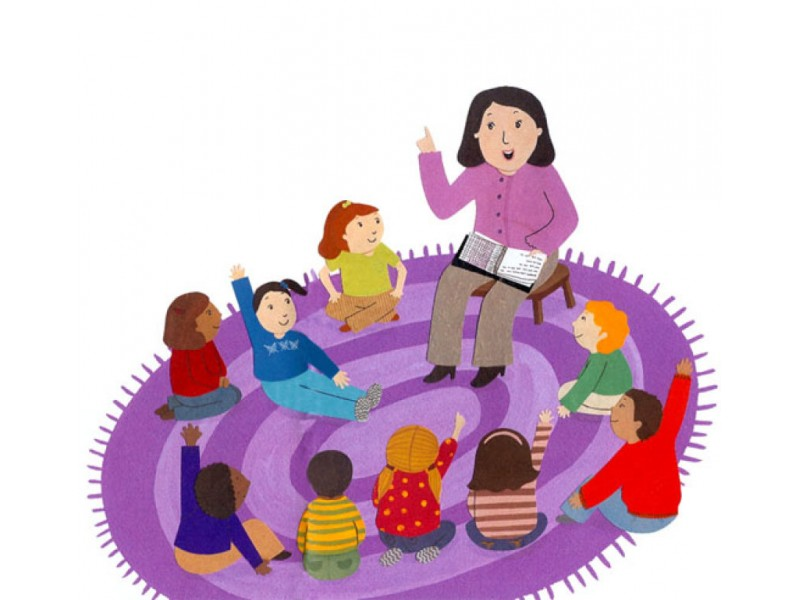 5 And Younger Story Time At The Cerritos Library