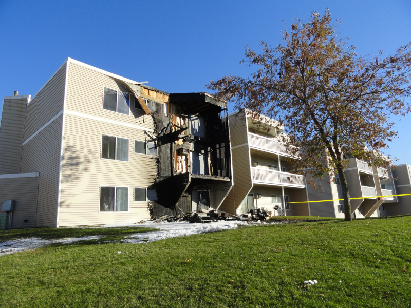 Major Fire Hits Ashwood Road Apartment Building In