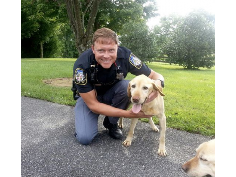 Cockeysville Officer, Sparks Family Rescue Emaciated Dogs ...