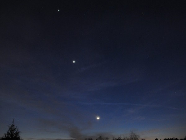 Planets Align Tonight: Venus, Jupiter, Mercury, Mars ...