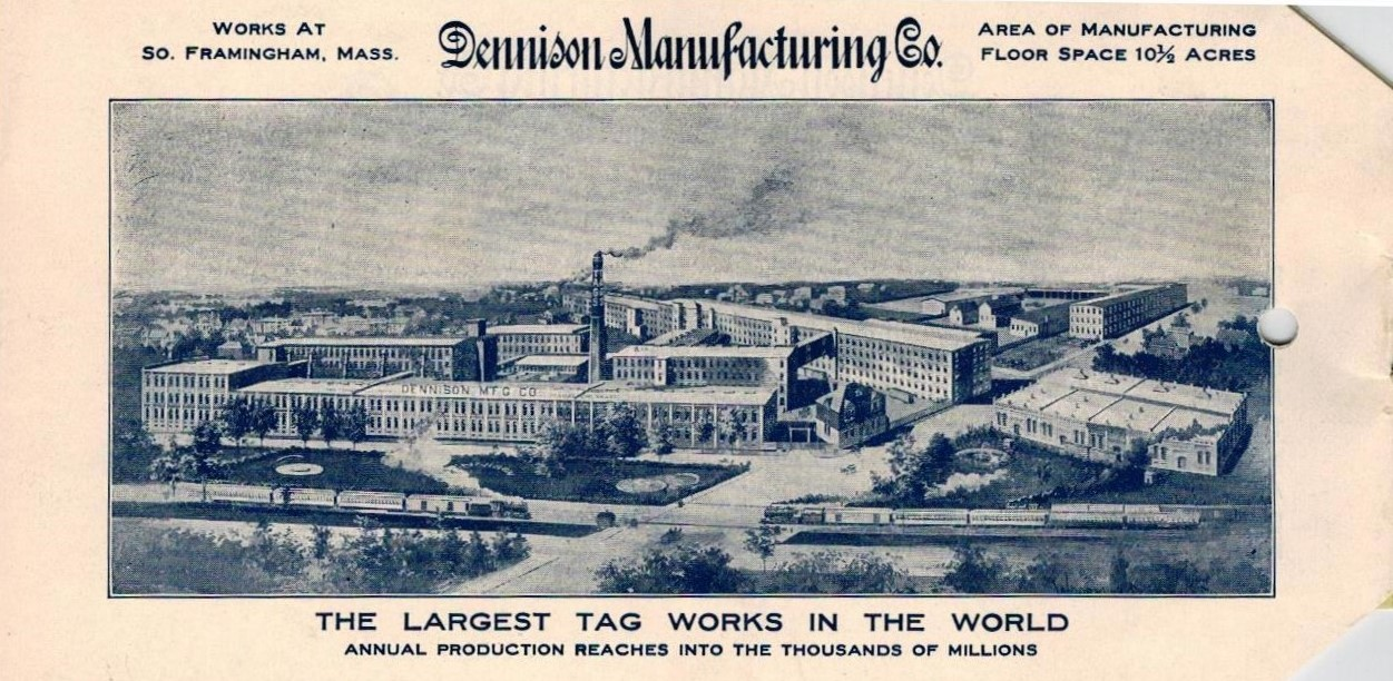 Framingham History Center To Unveil Dennison Manufacturing Company Exhibit