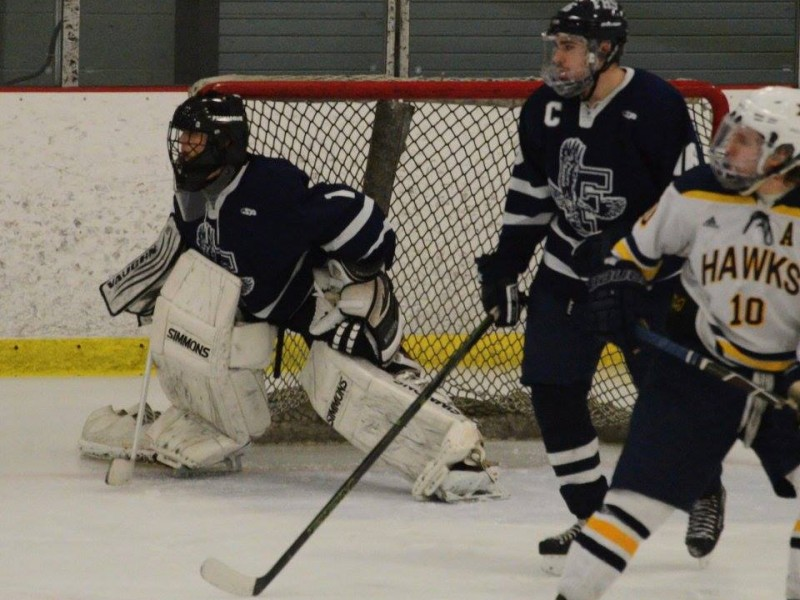 MA H.S.: IMAGE GALLERY - Flyers, Hawks Skate To A 2-2 Tie