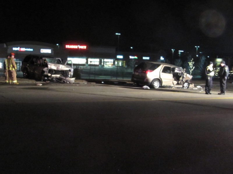 Updated 4 Hospitalized After Crash In Northville Township