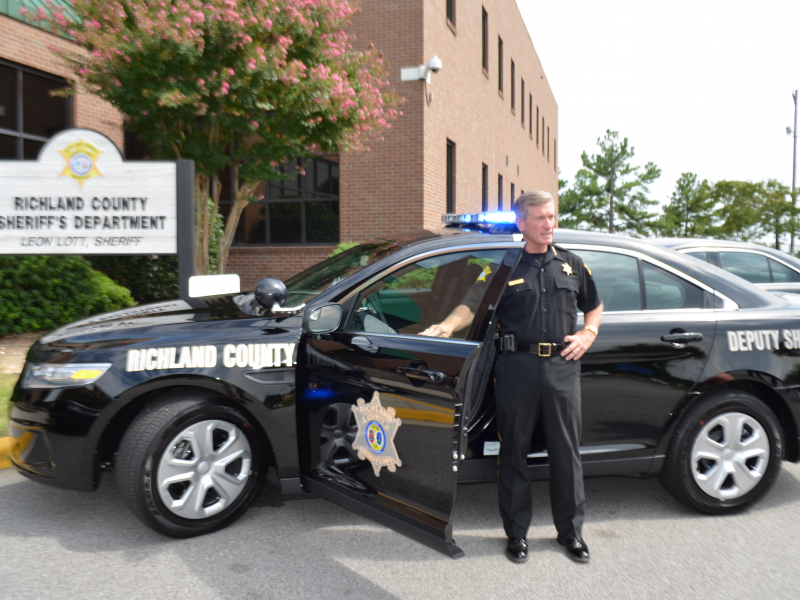 Richland sheriff reveals new department vehicles for Department of motor vehicles columbia sc