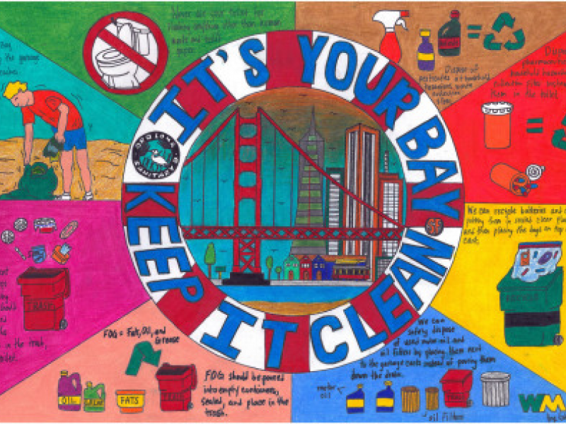 'It's Your Bay, Keep It Clean' 2013 Poster Winners ...
