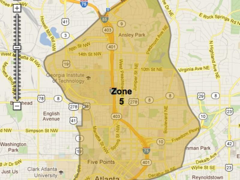 atlanta zone