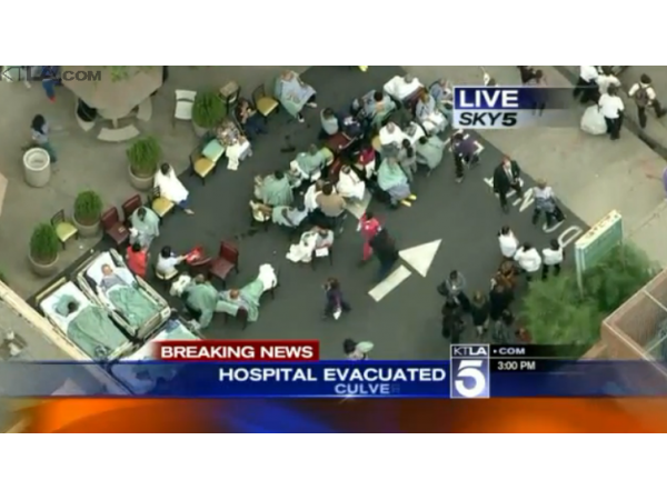 Culver city hospital fire prompts evacuation culver city for 3828 delmas terrace culver city