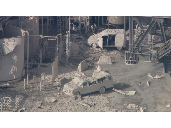 Torrance Refinery Fire Today Video