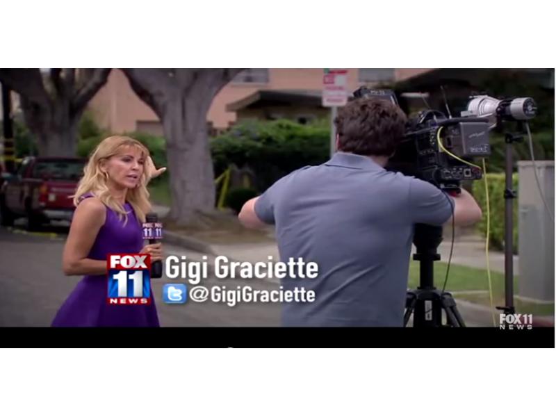 tv News Photographer tv News Crew Helps Catch