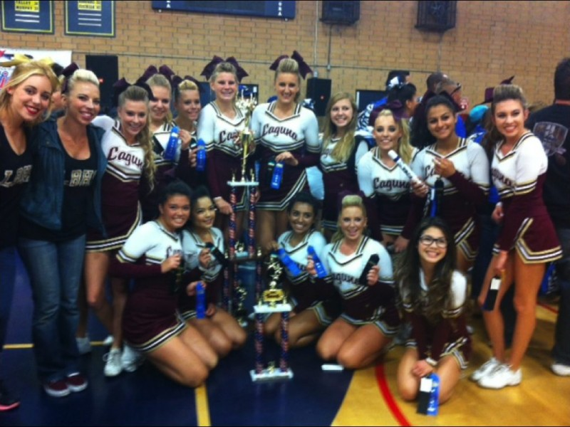 Laguna Beach High School Cheerleading