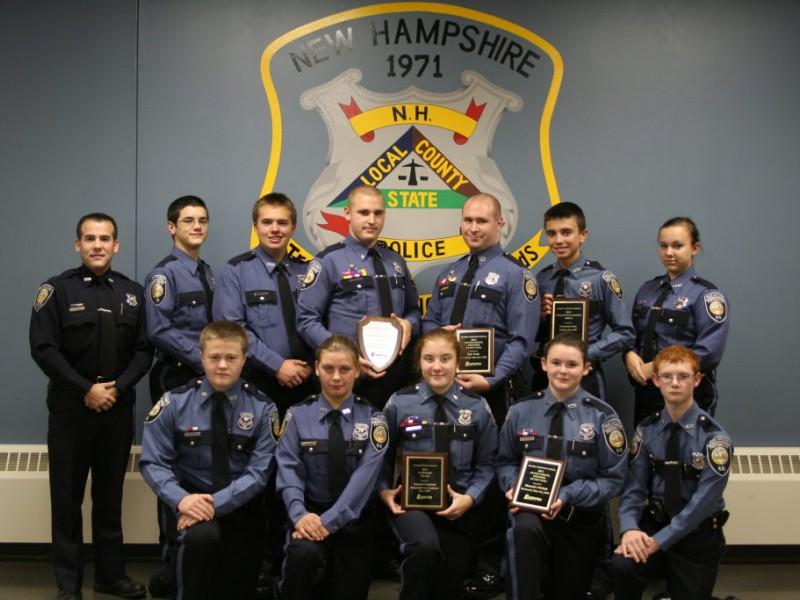 Calendar Ideas Zip : Portsmouth police explorer cadets receive awards