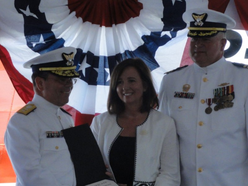 Change of command for coast guard cutter reliance for Michaels crafts newington nh