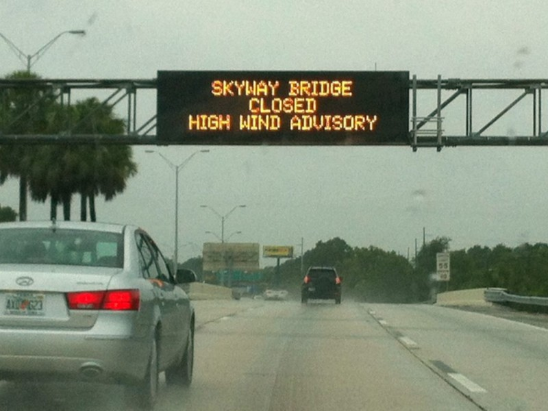 UPDATE: Sunshine Skyway Bridge Remains Closed - Bradenton ...