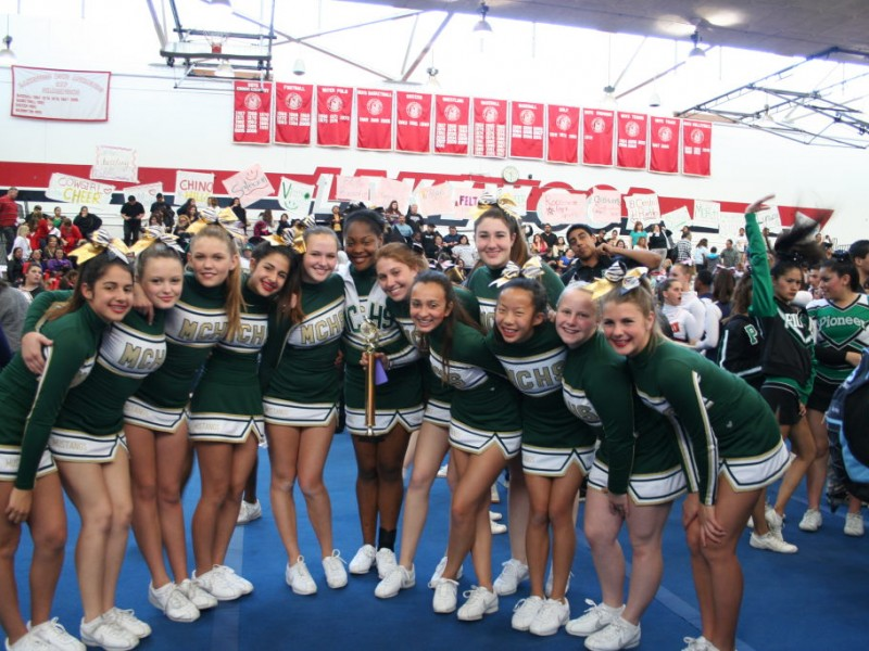 Jv Cheer Squad Takes 1st Place Manhattan Beach Ca Patch