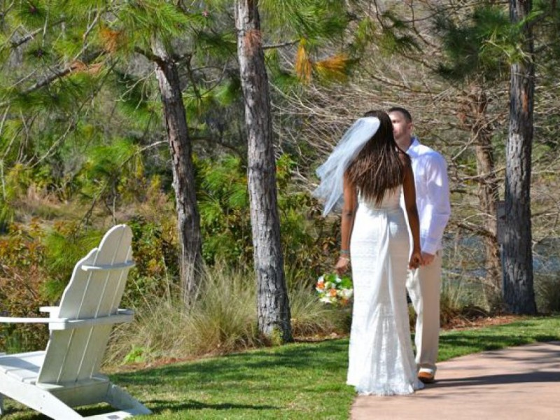 Couples Marry In Mass Wedding At Botanical Gardens Largo Fl Patch