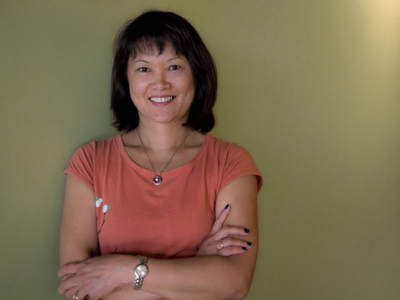 Photos Of Lily Hou Owner Of Green Yoga House West Des