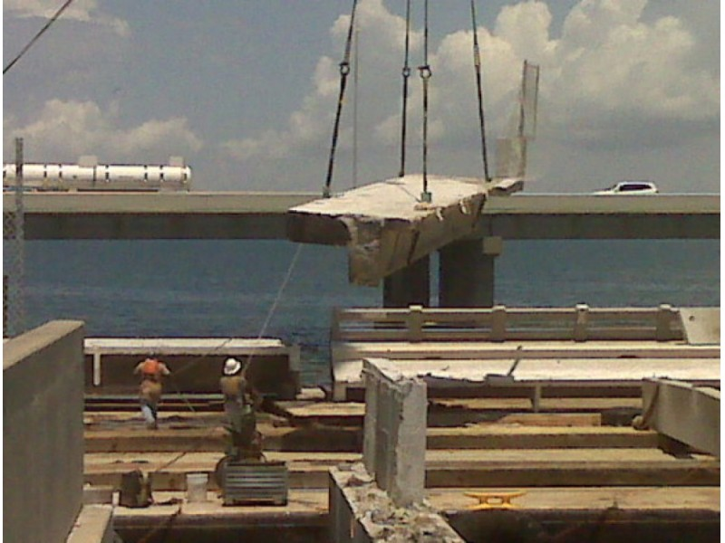 Spans of skyway bridge to become artificial reef st for Sunshine skyway fishing pier