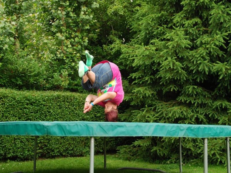 Are trampolines safe for children?