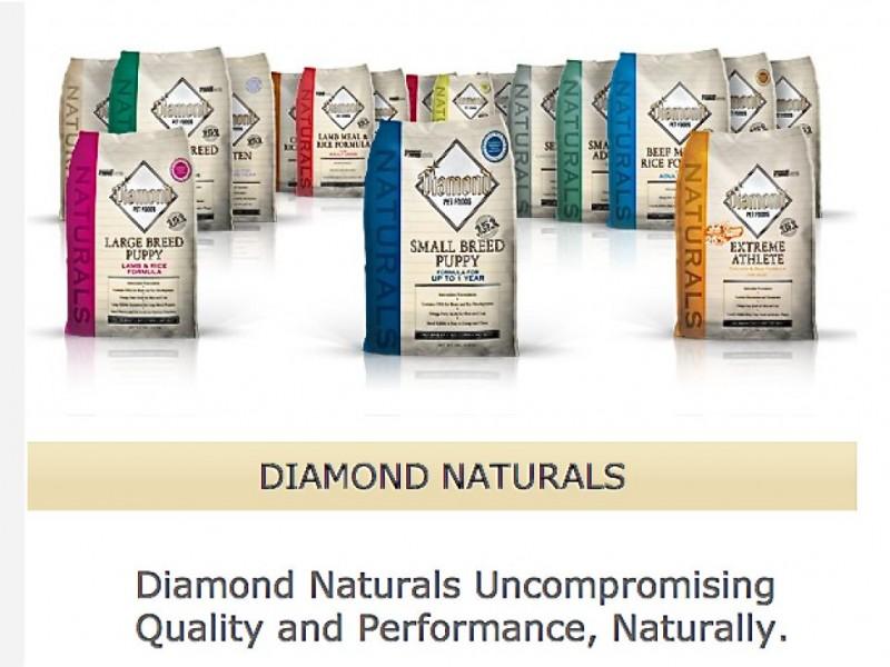 Diamond Pet Food Recalls Dog