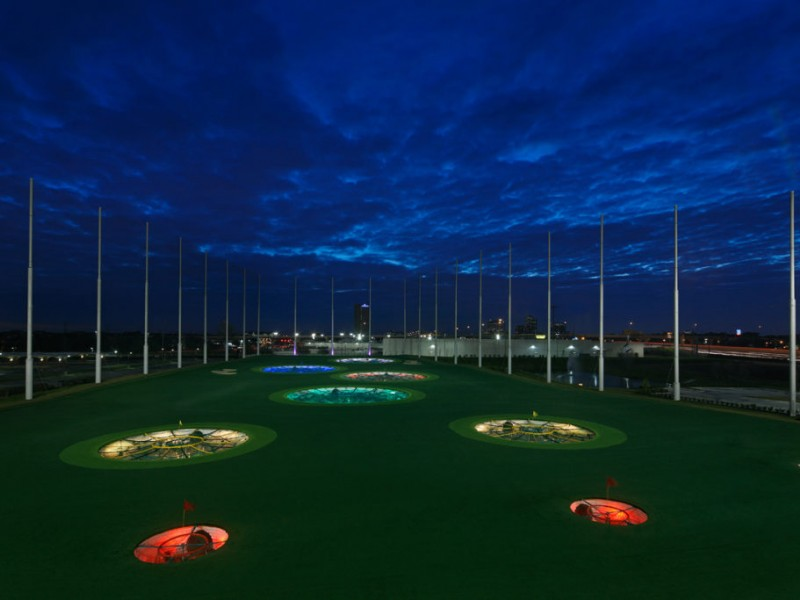 Topgolf Building Alpharetta Entertainment Venue