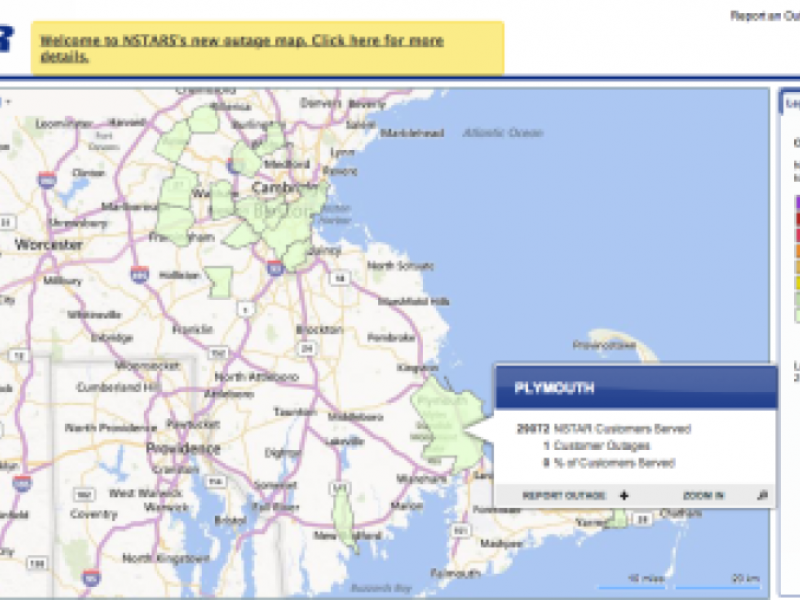 Nstar Touts Improvements To Power Outage Map Jamaica