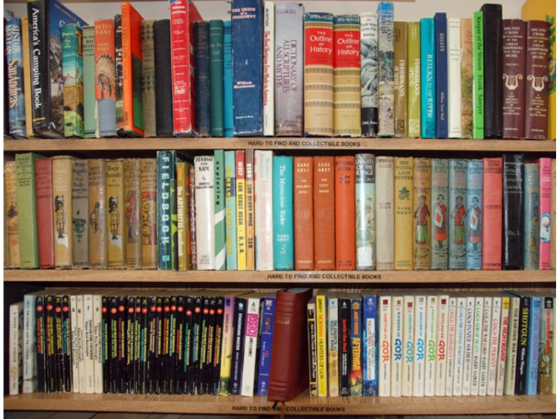 Used book case