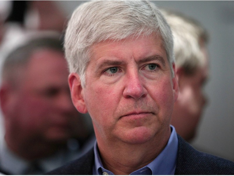 'Kicking Myself' Over Flint Water Crisis: MI Gov. Snyder