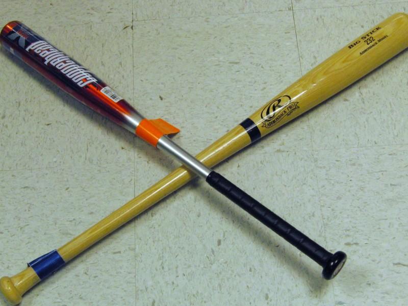 Aluminum Vs Wood Bat Ball Further 27