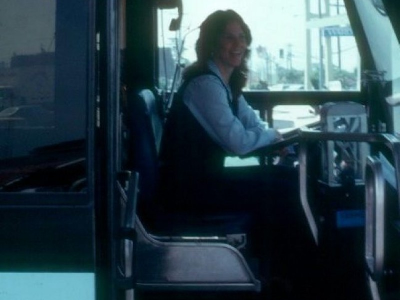 hot female bus driver