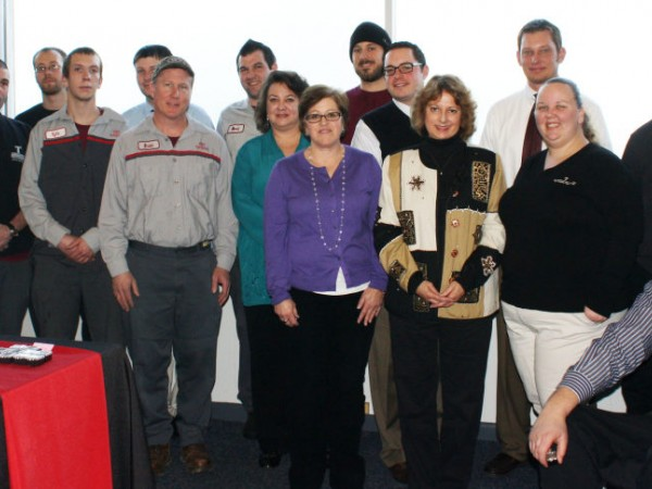 Thompson Honors Employees At Anniversary Luncheon