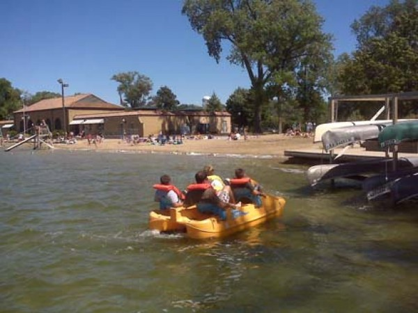 crystal lake main and west beaches opening day may 23
