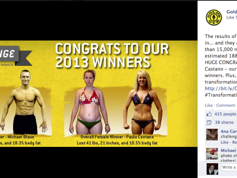 St. Peters Woman Wins Gold's Gym Contest By Losing 40 ...