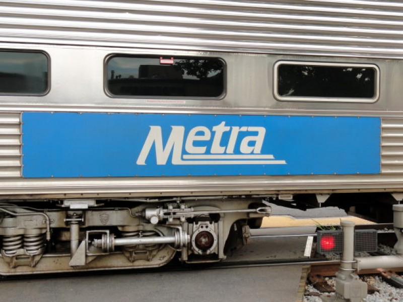 Female pedestrian was struck and killed by a metra train early