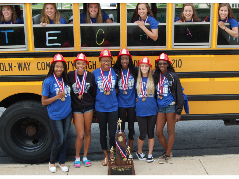 Lincoln Way East Girls Track And Field Team Earns Historic