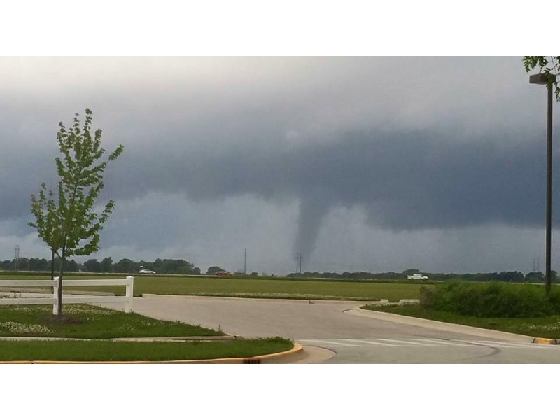 Spotter Reports Tornado Touchdown Near Manteno - Frankfort, IL Patch