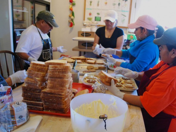 Loaves and fishes sees demand increase watsonville ca patch for Loaves and fishes food pantry