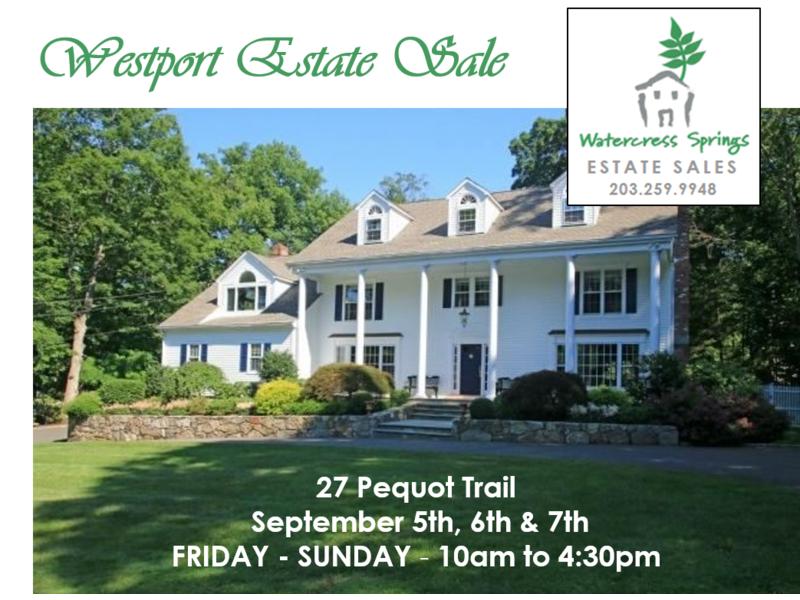 Westport Estate Sale Fairfield Ct Patch