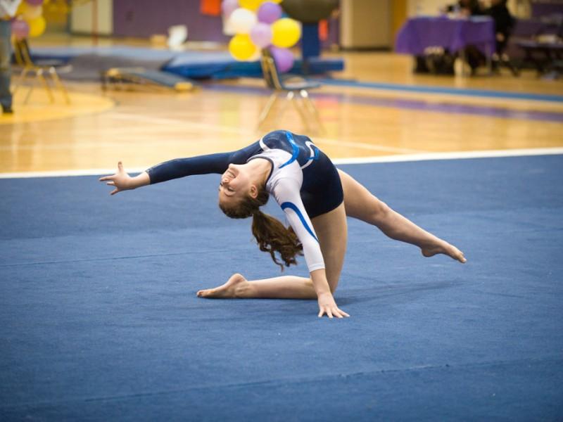 west allis gymnastics meet